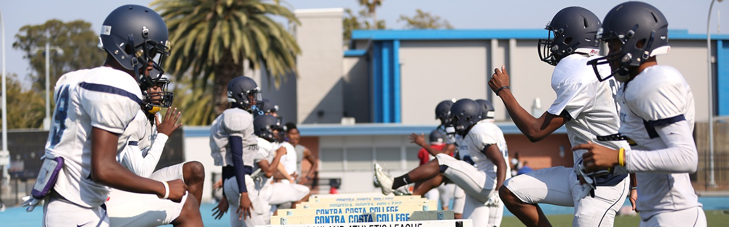 contra costa college athletics football practice