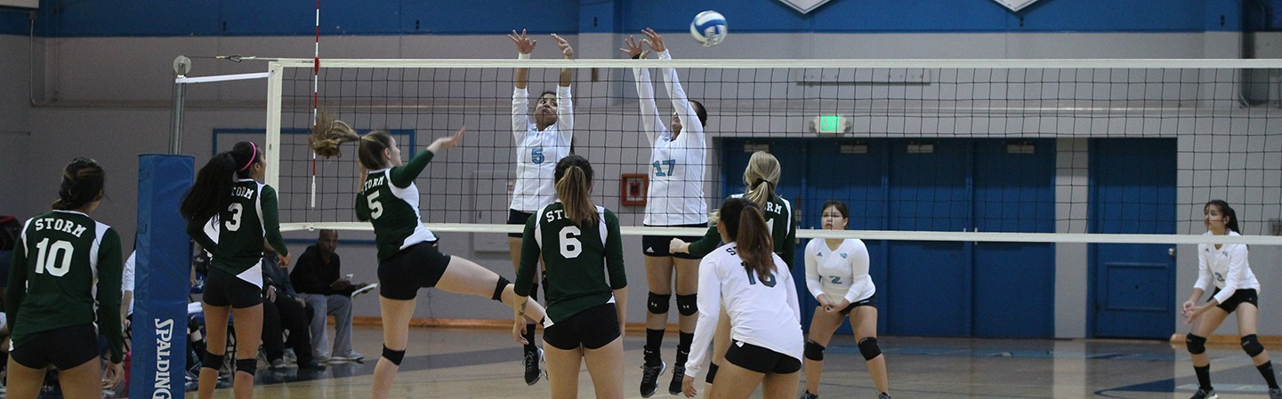 Contra Costa College Volleyball Game