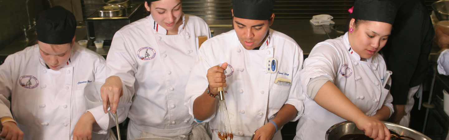 CCC culinary arts students