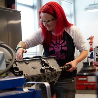 Automotive Services Student