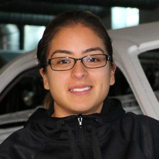 Automotive Services Professor Laura Salas