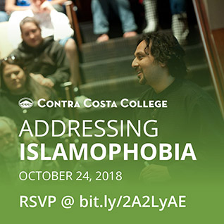 Addressing Islamophobia workshop at Contra Costa College October 24, 2018
