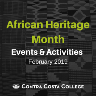 African Heritage Month events + activities.