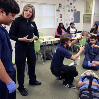 Contra Costa College EMS Instructor Gretchen Medel